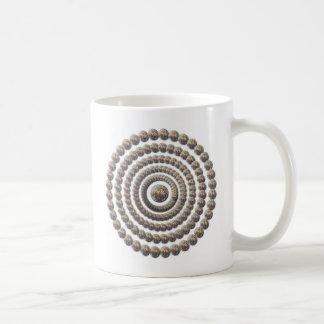 Circular Design of Desert Globemallow Mug