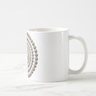 Circular Design of Desert Globemallow Mugs