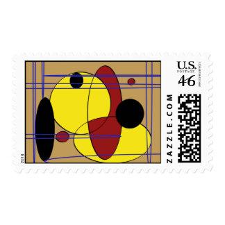 Circular Design-S- Stamps