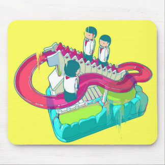 Circular Elevator Toy Mouse Pad