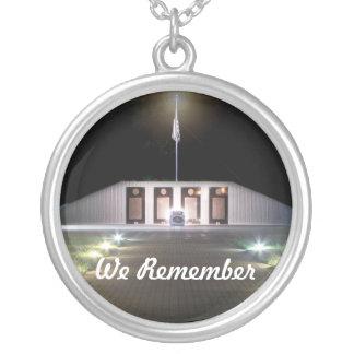 Circular EOD Memorial Necklace
