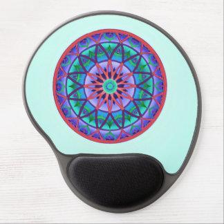 Circular Fantasy Gel Mouse Pad