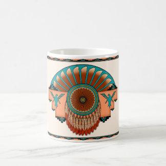 Circular Feathers Coffee Mug