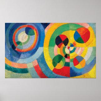 Circular Forms by Robert Delaunay Poster