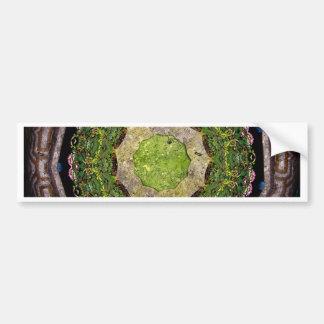 Circular Garden Bumper Sticker