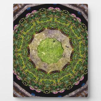 Circular Garden Plaque
