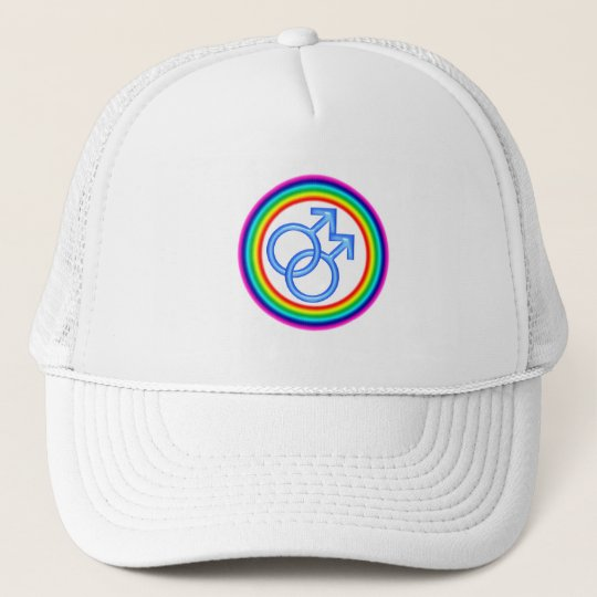 Circular Gay Synbol Hat