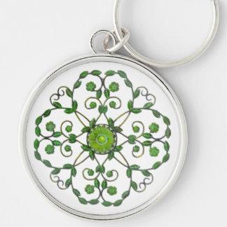 Circular Ivy Keychain