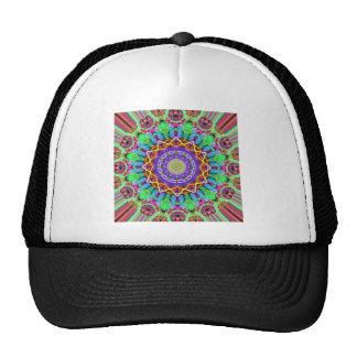 Circular Mandala Graphic Trucker Hat