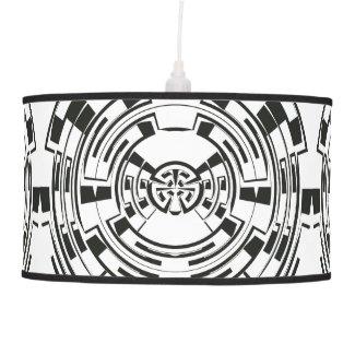 Circular Maze Hanging Pendant Lamp