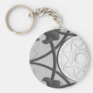 Circular Medallion keychain