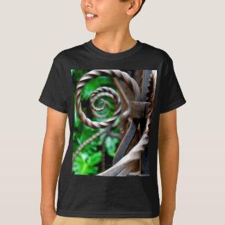 Circular Metal T-Shirt