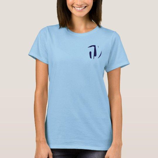 Circular mould stylish design initials NY T-Shirt