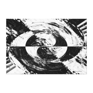 Circular Pattern 1 Gallery Wrapped Canvas