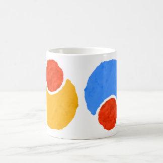 circular pattern coffee mug