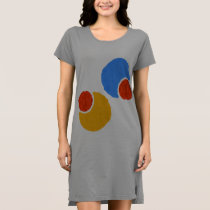 circular pattern dress