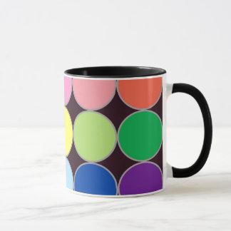 Circular pattern mug