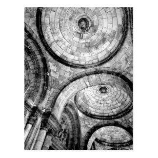 Circular Patterns in Brick at Sacre Couer Postcard