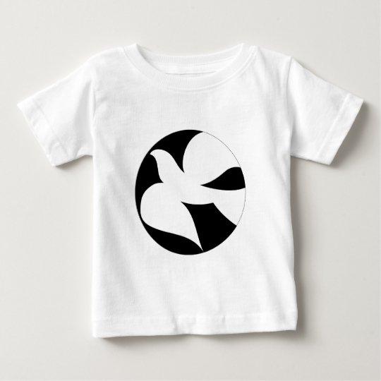 Circular Peace Dove Baby T-Shirt