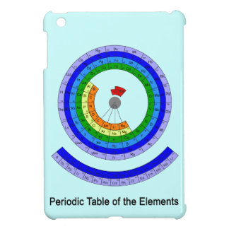 Circular Periodic Table of the Elements iPad Mini Case