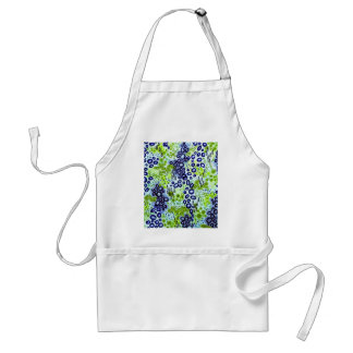 CIRCULAR PERSUASION 2 Neon Tropical Bubble Pattern Adult Apron