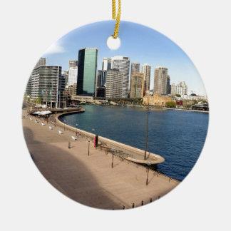 Circular quay, Sydney Ceramic Ornament