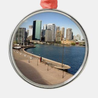 Circular quay, Sydney Metal Ornament