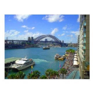 Circular Quay Sydney Postcard