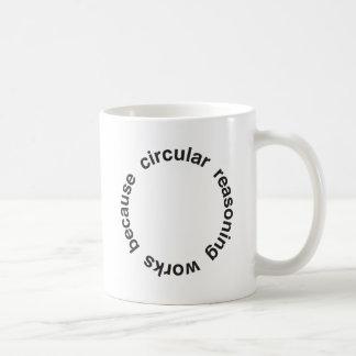 Circular Reasoning Classic White Coffee Mug