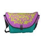 Circular Retro Daisy Customizable Bag Messenger Bag