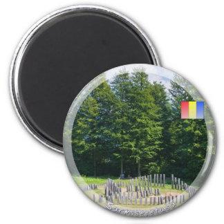 Circular Sanctuary 2 Inch Round Magnet