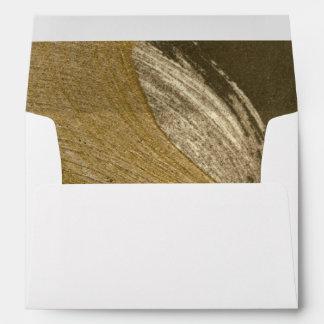 Circular Sandstorm in Tan and Dark Brown Envelope