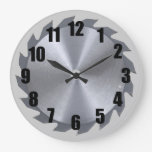Circular Saw Blade Wall Clock