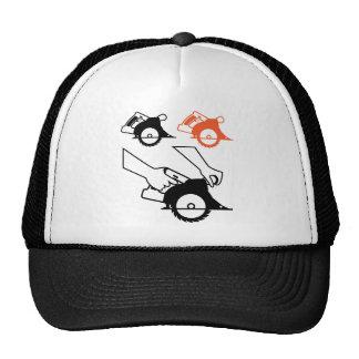Circular Saw Trucker Hat