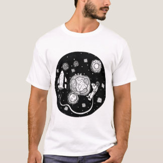 Circular sidereal space T-Shirt
