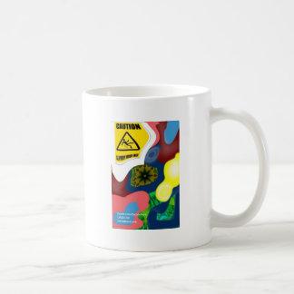 Circular Slippery When Wet Coffee Mug