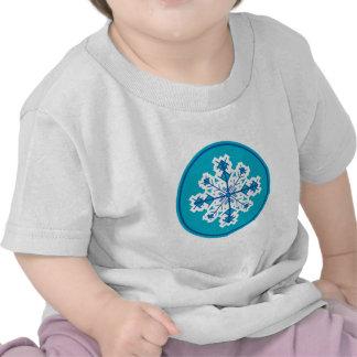 Circular Snowflake Tshirt