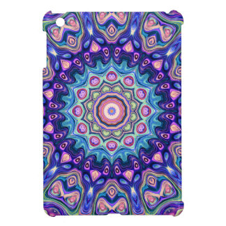 Circular Spectral Kaleidoscope iPad Mini Cases