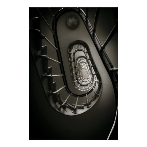 Circular Stairway (III) Poster
