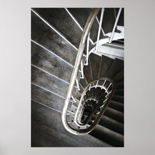 Circular Stairway Print
