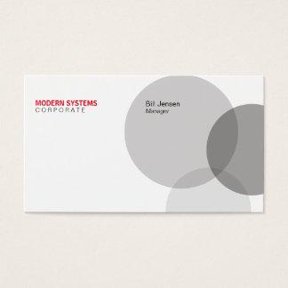 Circular Venn Business Card