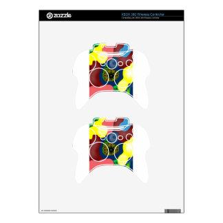 Circular Xbox 360 Controller Skins