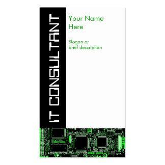 Circule el verde 2 ÉL tarjeta de visita del consu