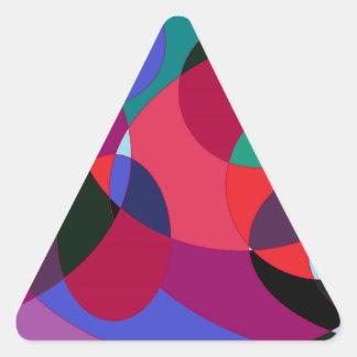 Circuliar 2. pegatina triangular