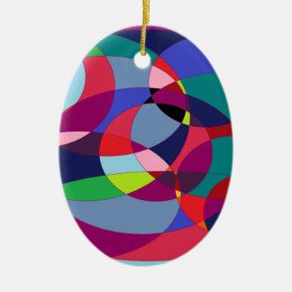 Circuliar 3. ceramic ornament