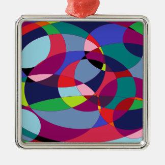 Circuliar 3. metal ornament