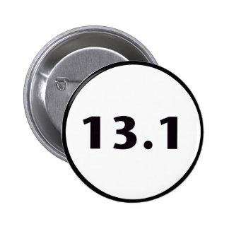círculo 13,1 pin redondo de 2 pulgadas
