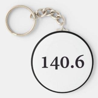círculo 140,6 llaveros