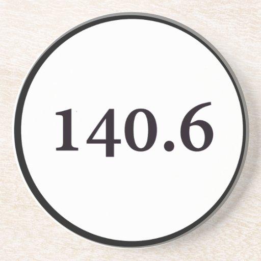 círculo 140,6 posavasos personalizados