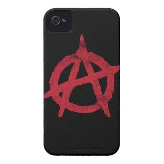 Círculo A de la anarquía Carcasa Para iPhone 4